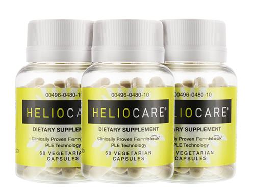 Heliocare Sun Protection Pills - 3 Bottles
