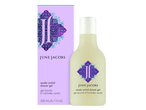 June Jacobs Vanda Orchid Shower Gel