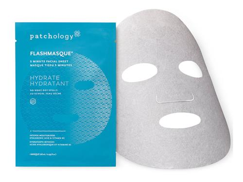 Free $7.50 patchology Hydrate FlashMasque Facial Sheet