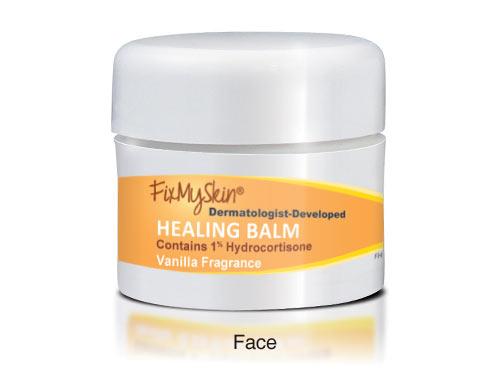 FixMySkin Healing Face Balm Vanilla with 1% Hydrocortisone