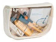 Jane Iredale Cosmetic Case Clear Side