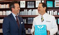 Brent Saunders, CEO of Allergan, Visits LovelySkin