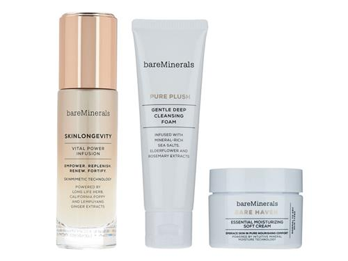 bareMinerals Skinsorials 3-Part Ritual Kit: Normal to Dry Skin