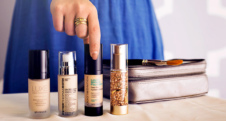 Dear LovelySkin: What is the Best Foundation for Aging Skin?