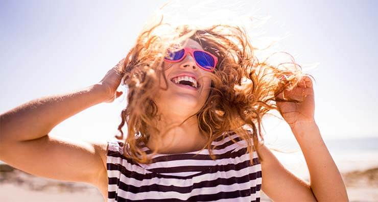 4 Quick Fixes for Your Worst Summer Hair Woes