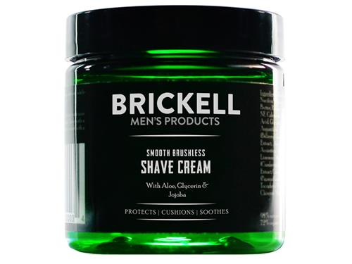 Brickell Smooth Brushless Shave Cream Travel Size