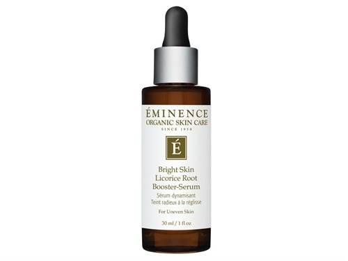 Free $56 Eminence Organics Bright Skin Licorice Root Booster-Serum