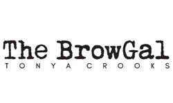 Logo for The BrowGal
