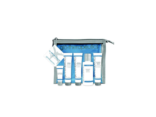 glo therapeutics Fly With Me Travel Kit - Normal to Oily