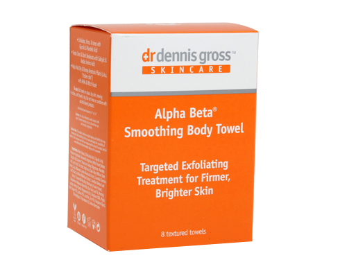 Dr. Dennis Gross Skincare Alpha Beta® Smoothing Body Towel