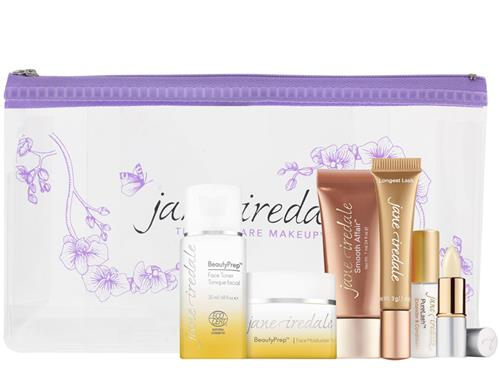 Free $72 jane iredale Big Mini Travel Kit