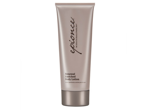 Use Epionce Renewal Enriched Body Lotion to improve skin elasticity