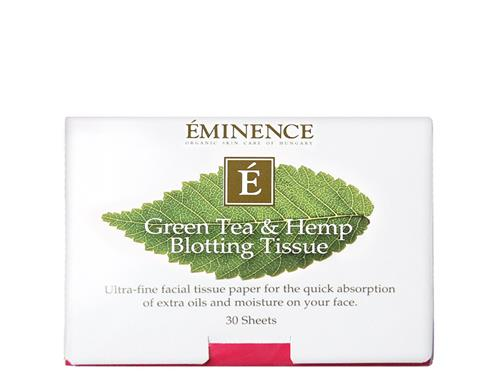 Eminence Green Tea & Hemp Blotting Tissue
