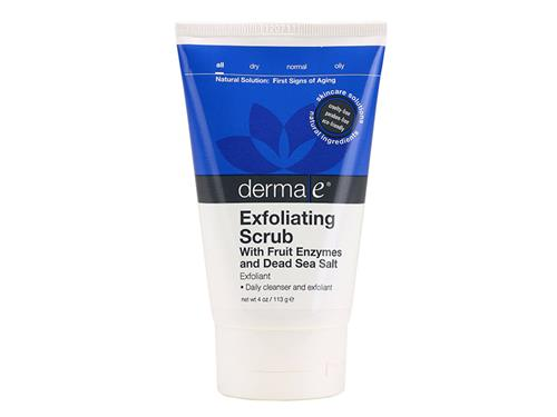 derma e Exfoliating Scrub with Fruit Enzymes