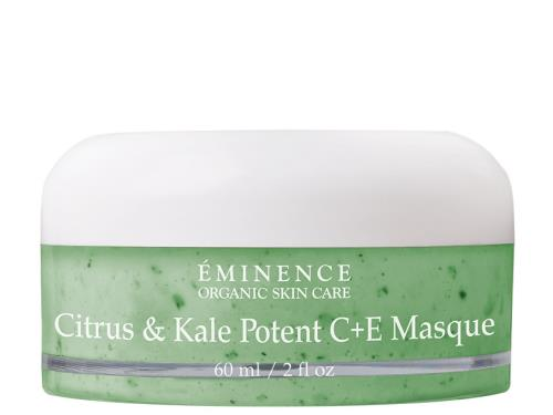 Eminence Citrus & Kale Potent C + E Masque: enjoy the benefits of kale.