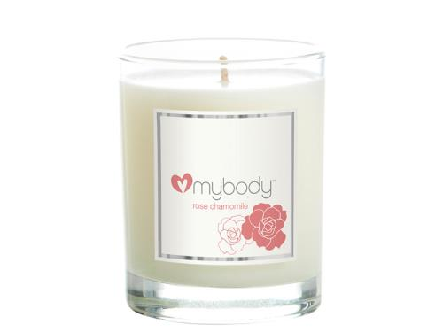 mybody SCENTED SPA CANDLE - Soothing Rose Chamomile