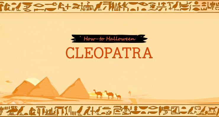 How-to Halloween: Cleopatra
