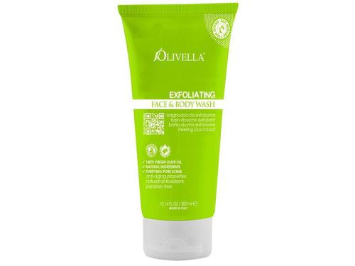 Olivella Exfoliating Face & Body Wash