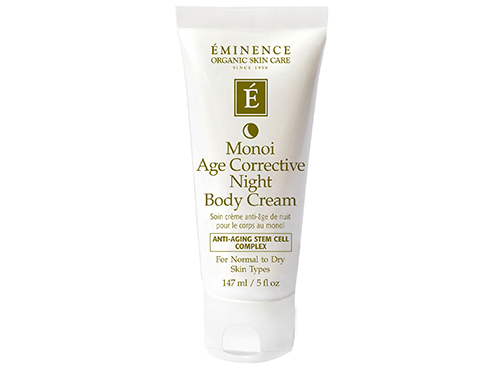 Eminence Monoi Age Corrective Night Body Cream: buy this monoi body lotion.