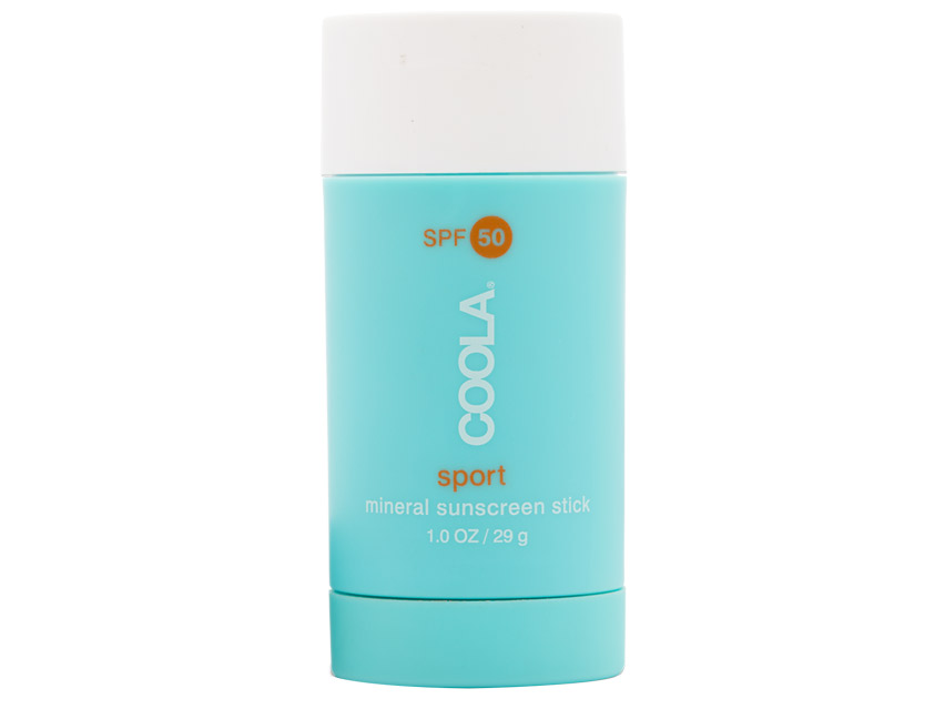 COOLA Organic Mineral Sport Sunscreen Stick SPF 50-Untinted