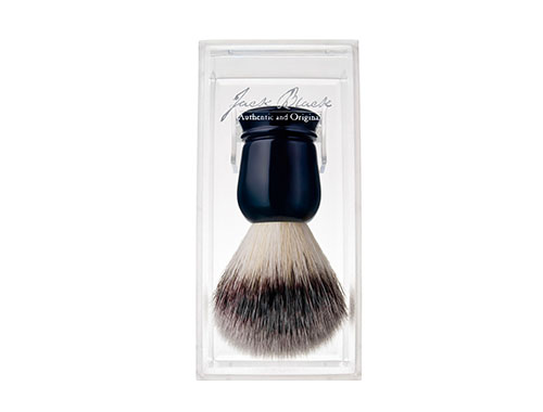 Jack Black Pure Performance Shave Brush with Travel Case & Brush Stand
