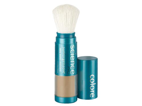 Colorescience Sunforgettable Mineral Sunscreen Brush SPF 30 - Deep