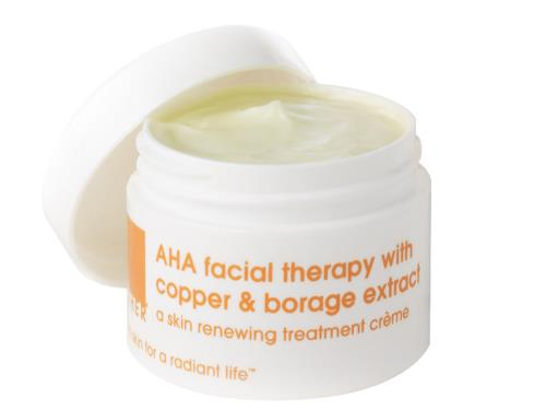 LATHER AHA Facial Therapy with Copper & Borage Extract