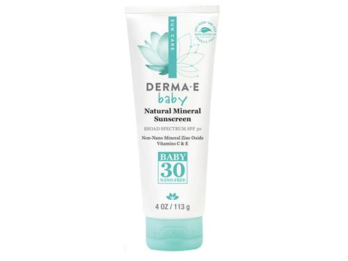 derma e Sun Defense Mineral Oil-Free Baby Sunscreen SPF 30