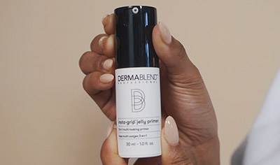 Dermablend Insta-Grip Jelly Primer - How to Video