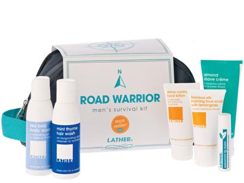 LATHER Road Warrior Mens Survial Kit