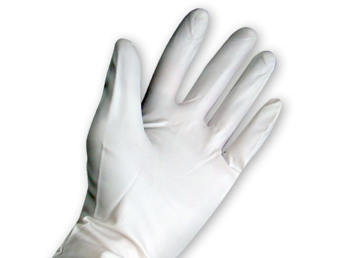 Allerderm Gloves - Vinyl - Large
