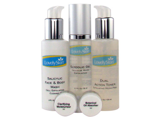 LovelySkin Acne Kit 1 for Oily Skin