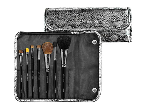 glo minerals Deluxe Brush Roll Limited Edition