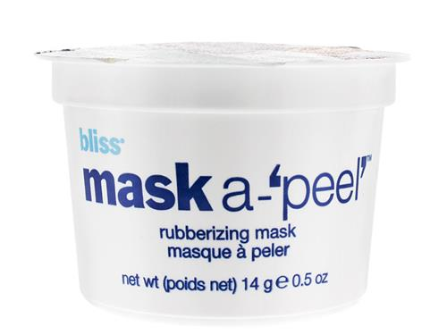 bliss mask a-'peel'  Radiance Revealing Rubberizing Mask Single Application