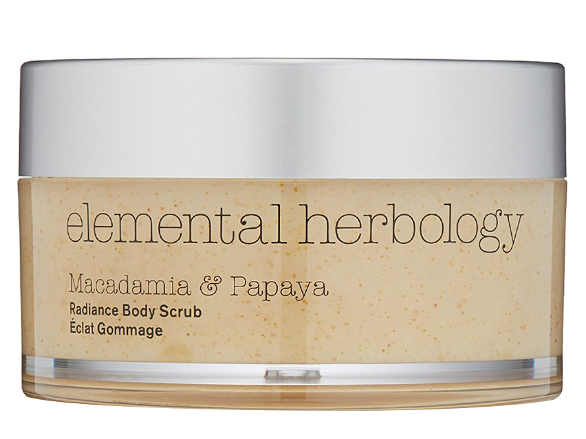 Elemental Herbology Body Essentials Macadamia and Papaya Radiance Body Scrub