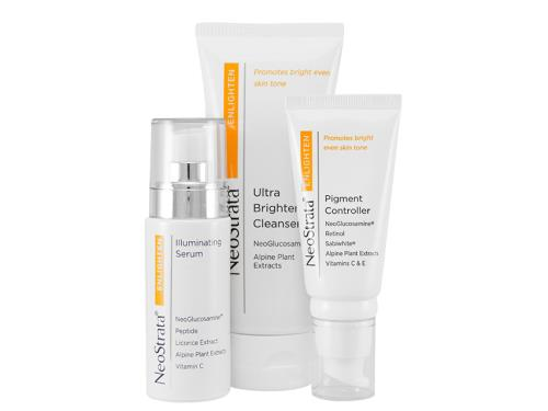 NeoStrata Enlighten Trio includes three NeoStrata lightening products.