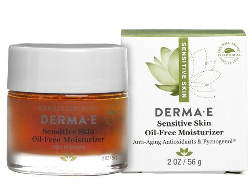 Derma E Sensitive Skin Moisturizing Cream, 2 Oz My Spa Life Aloe Wipes, 60 Ct