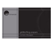 glo minerals Blotting Papers