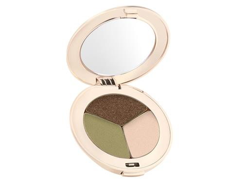Jane Iredale PurePressed Eye Shadow Triple - Khaki Kraze