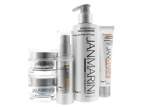 Jan Marini Skincare Collection for Dry/Very Dry Skin with five Jan Marini face products