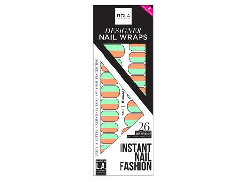 ncLA Nail Wraps - Working Vacation