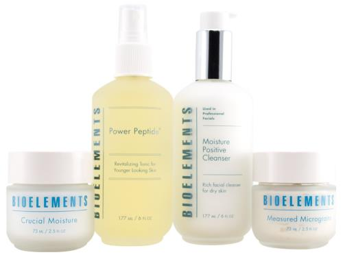 Bioelements Starter Kit Daily Essentials for Very Dry and Dry Skin
