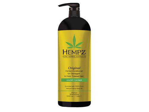 Hempz Haircare Original Conditioner for Damaged & Color Treated Hair Liter