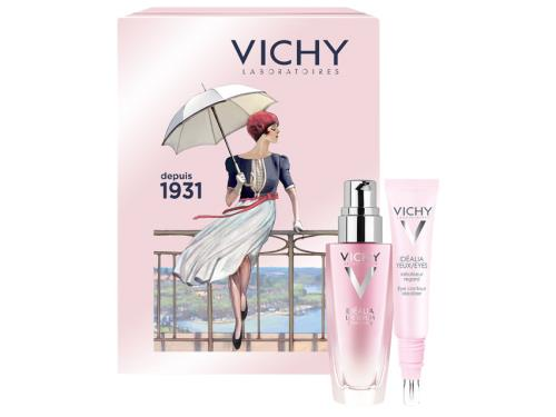 Vichy Limited Edition Idealia Life Serum and Eye Duo with Tin