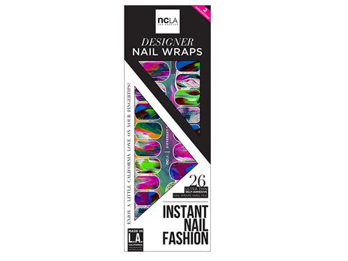 ncLA Nail Wraps - Different Strokes