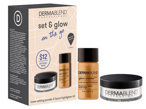 Dermablend Set & Glow On the Go Set