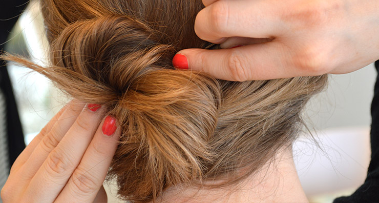 Trend Testers: Messy Hair Bun Tutorial