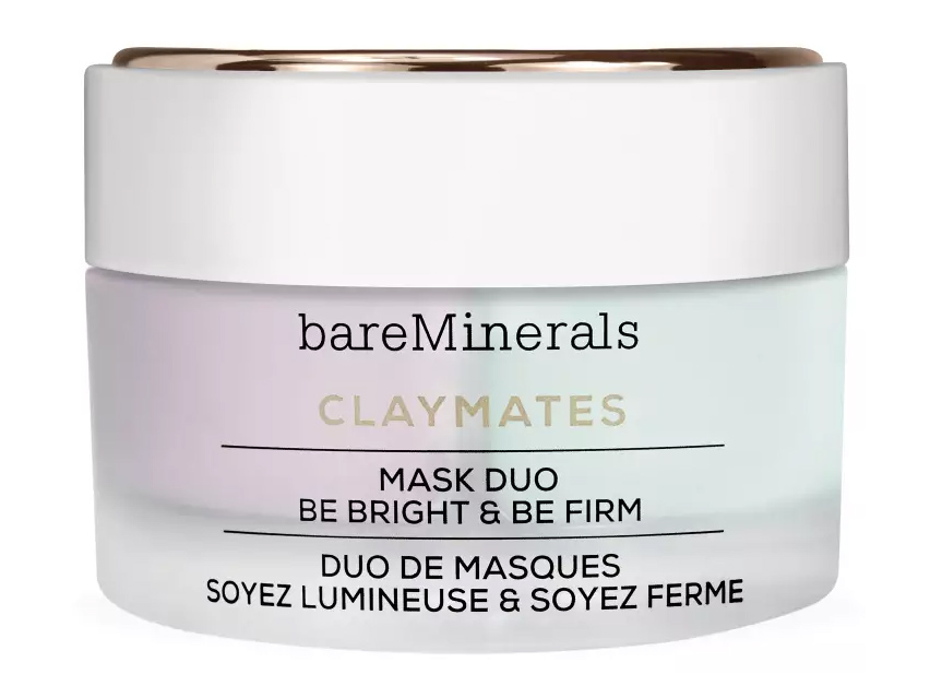 bareMinerals ClayMates Be Bright & Be Firm Mask Duo