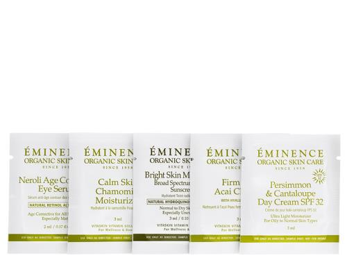 Free $10 Eminence 5-Piece Sample Set