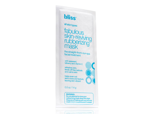 Bliss Fabulous Skin-Reviving Rubberizing Mask